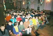 Orphans Attending A Christmas Assembly At The Orphanage Near Orlovka. January 7, 2006