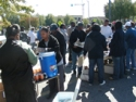 Feeding Homeless Persons In Downtown Atlanta