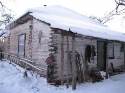 Their Original House Six Miles From Kazilovka, Snowed In.   The Roof Caved In Not Long After This Photo Was Taken By Dr. Stillwagon.
